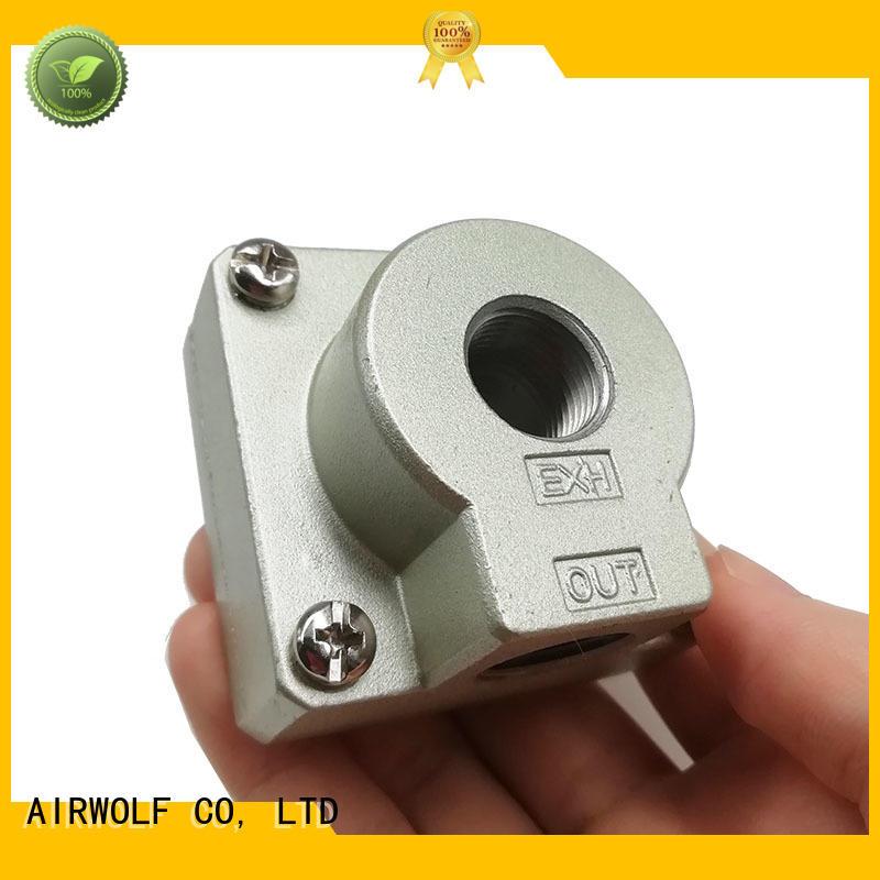 silver pneumatic mechanical valve best price internal thread for CAB