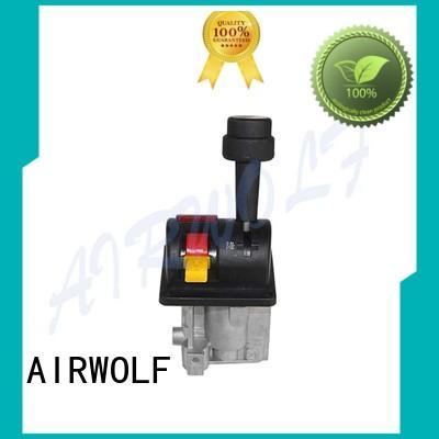 ring dump truck control valve yellow AIRWOLF