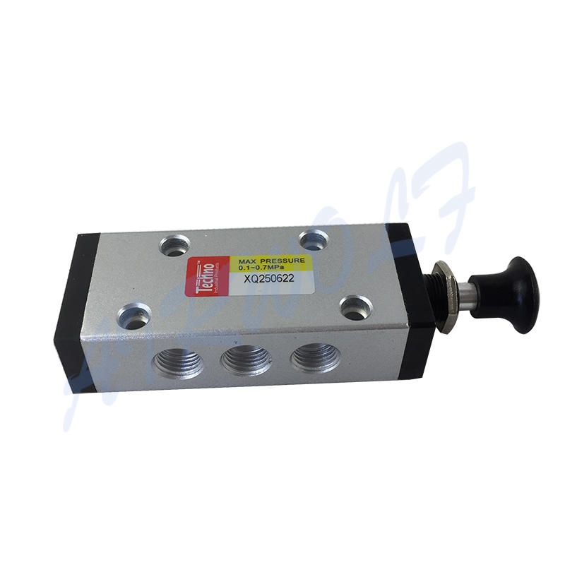 AIRWOLF slide pneumatic manual control valve operated at discount-3