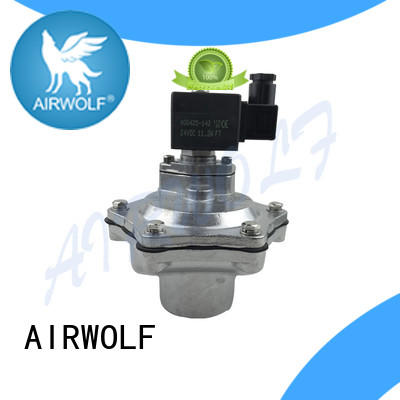 AIRWOLF electronic pulse flow valve custom air pack installation