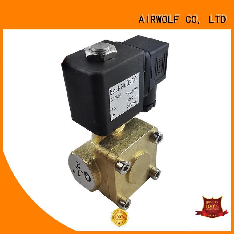 AIRWOLF aluminium alloy pneumatic solenoid valve way switch control