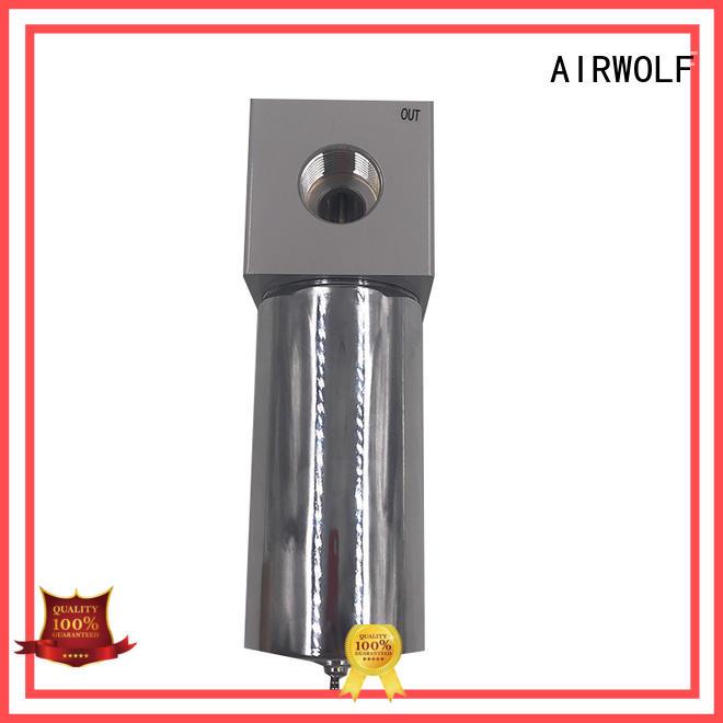 AIRWOLF custom pneumatic push button valve lock bulk production