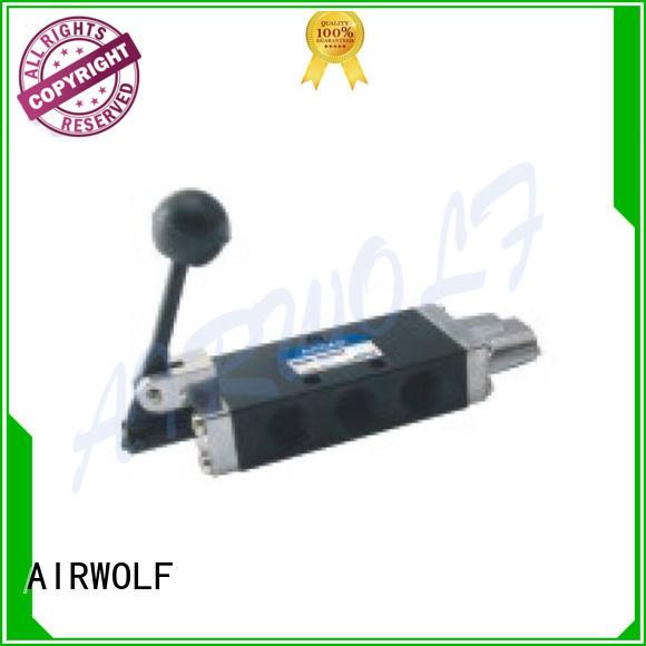 AIRWOLF pp pneumatic push pull valve toggle bulk production