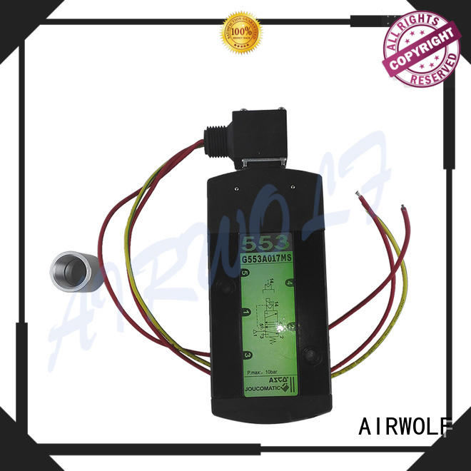 AIRWOLF high-quality solenoid valves direction system