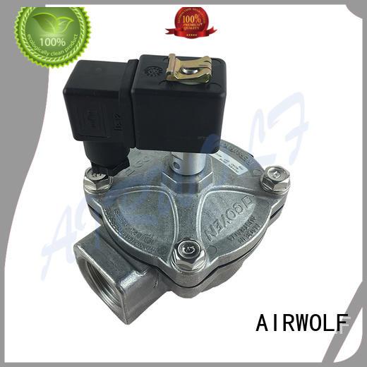 aluminum alloy pneumatic pulse valve cheap price dust blowout AIRWOLF