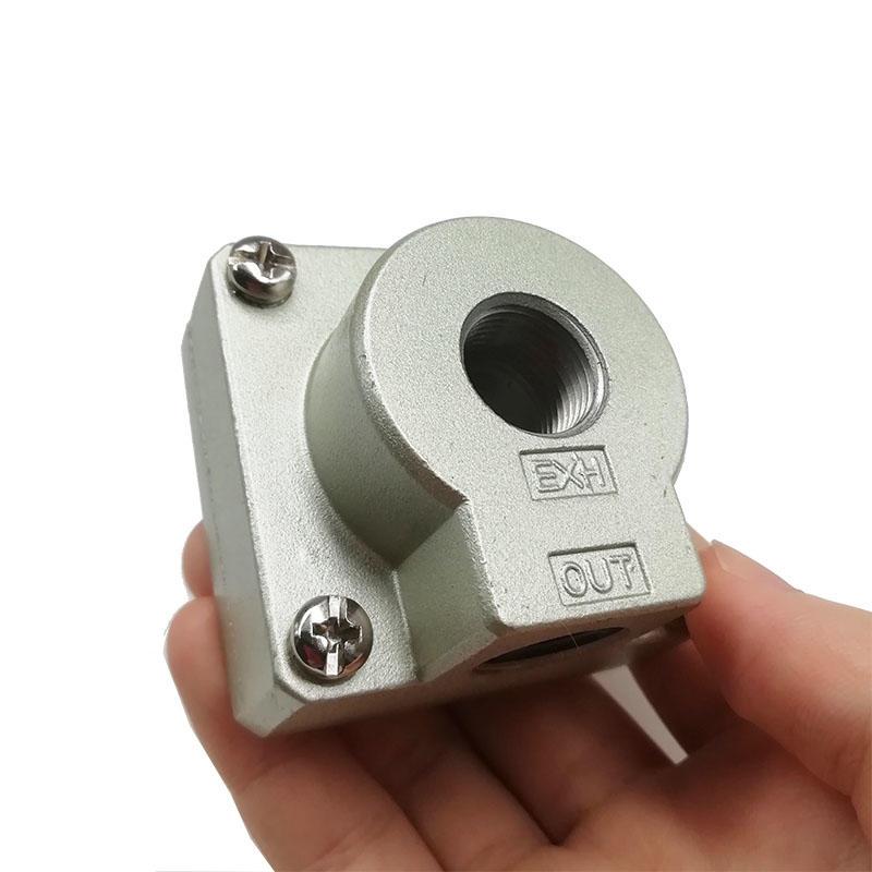 AIRWOLF silver air flow control valve Sentinel for CAB-1
