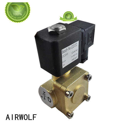 AIRWOLF aluminium alloy pilot operated solenoid valve high-quality direction system