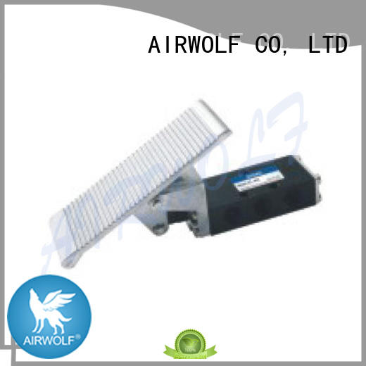 high quality pneumatic push button valve operate bulk production AIRWOLF
