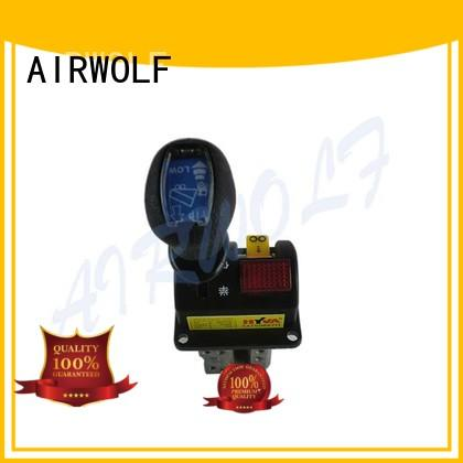 AIRWOLF yellow tipping valve contact now for tap