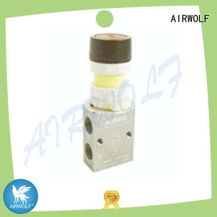 AIRWOLF cheapest price pneumatic manual control valve mushroom at discount