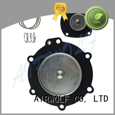 AIRWOLF red diaphragm valve repair plastic dyeing industry