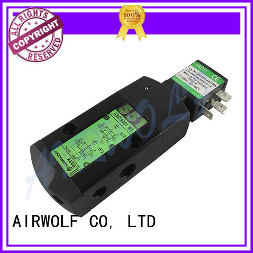 AIRWOLF wholesale single solenoid valve way direction system