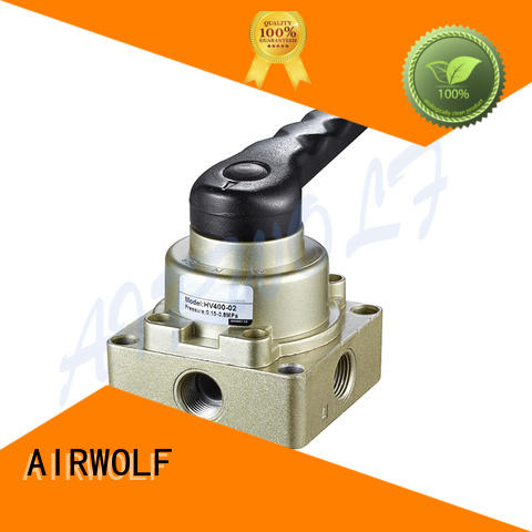 AIRWOLF cheapest price pneumatic push button valve outlet wholesale