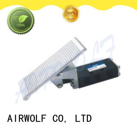 AIRWOLF slide pneumatic manual control valve acting bulk production
