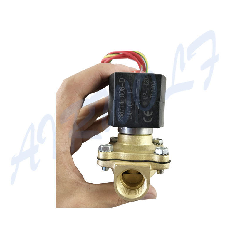 single solenoid valve high-quality single pilot for gas pipelines-2