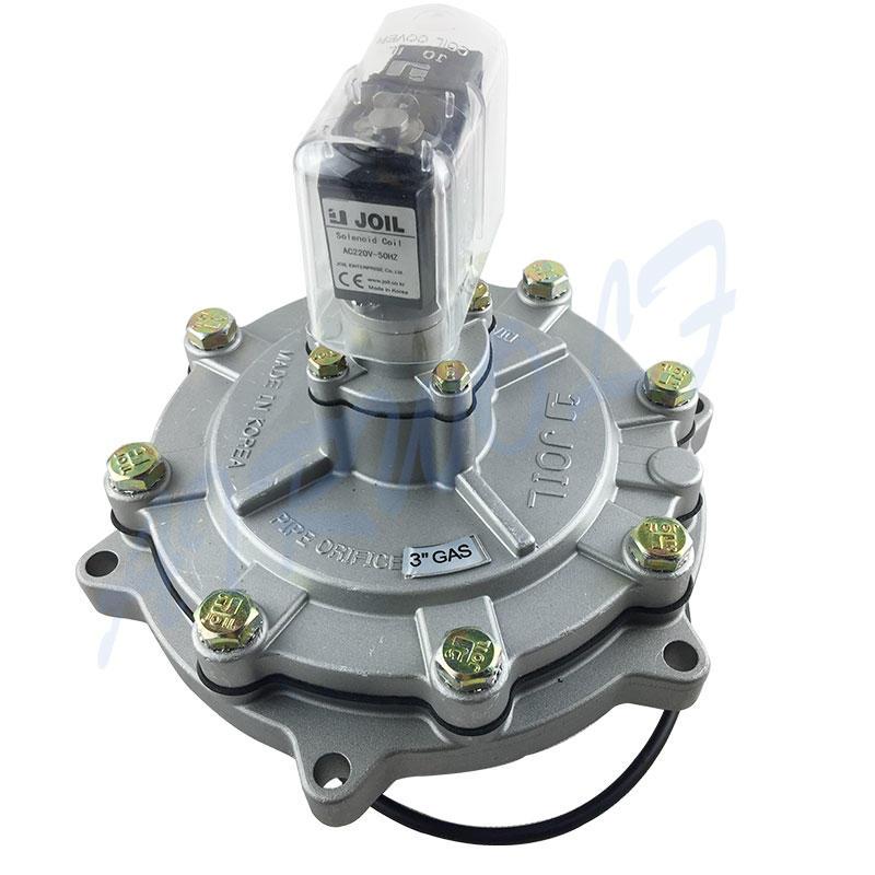 electrically goyen pulse jet valve aluminum alloy custom for sale-2