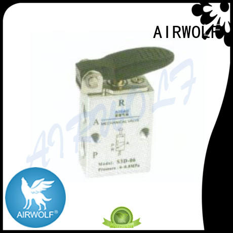 high quality pneumatic manual control valve airtac wholesale AIRWOLF
