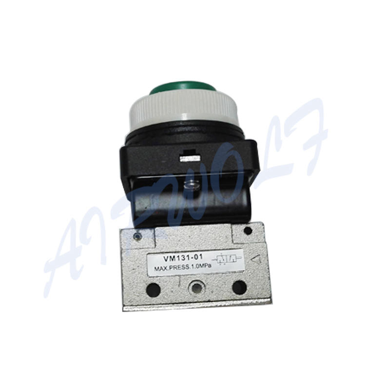 AIRWOLF mechanical pneumatic manual valves push bulk production-3