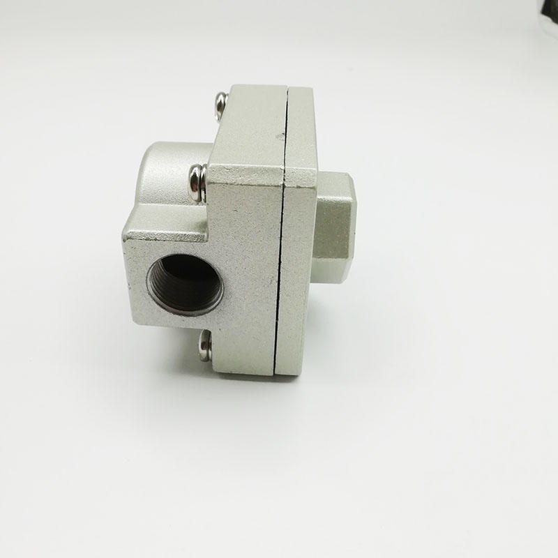 AIRWOLF silver air flow control valve Sentinel for CAB-2