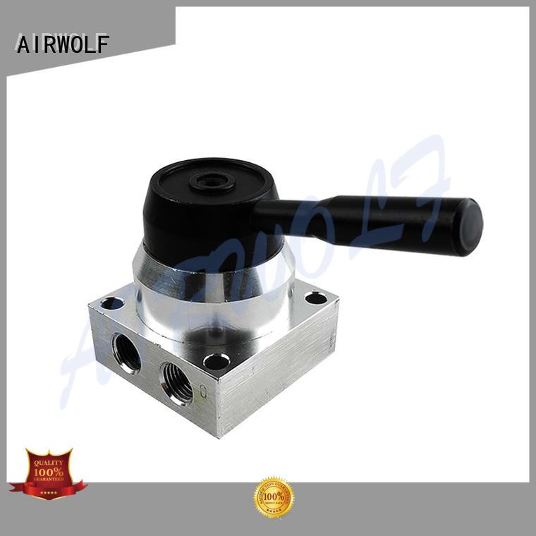 AIRWOLF manual pneumatic manual valves hand bulk production