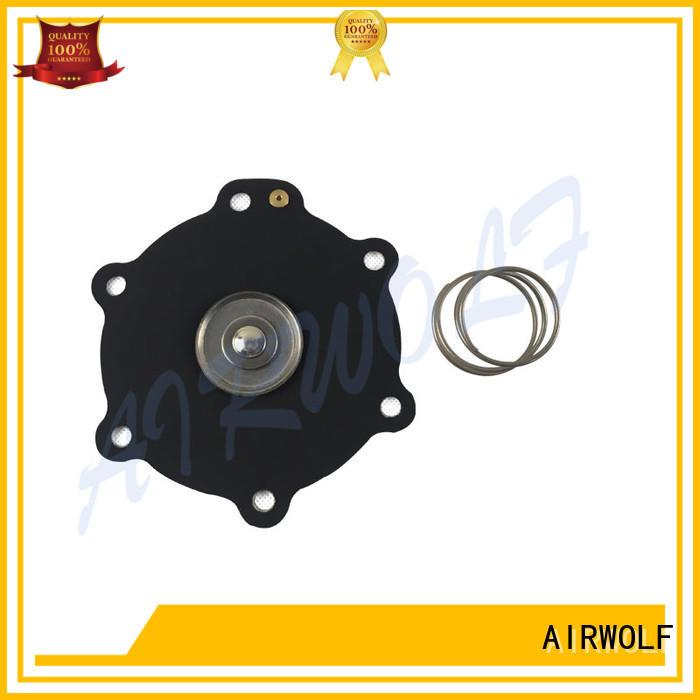 red diaphragm valve repair high quality Santoprene textile industry