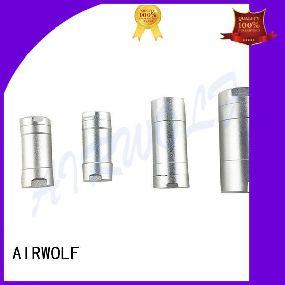 AIRWOLF green pneumatic manual control valve plunger bulk production