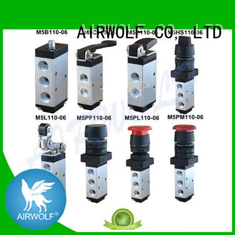 AIRWOLF high quality push button pneumatic air valve push wholesale
