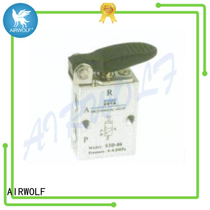 AIRWOLF pp pneumatic manual valves aluminum at discount