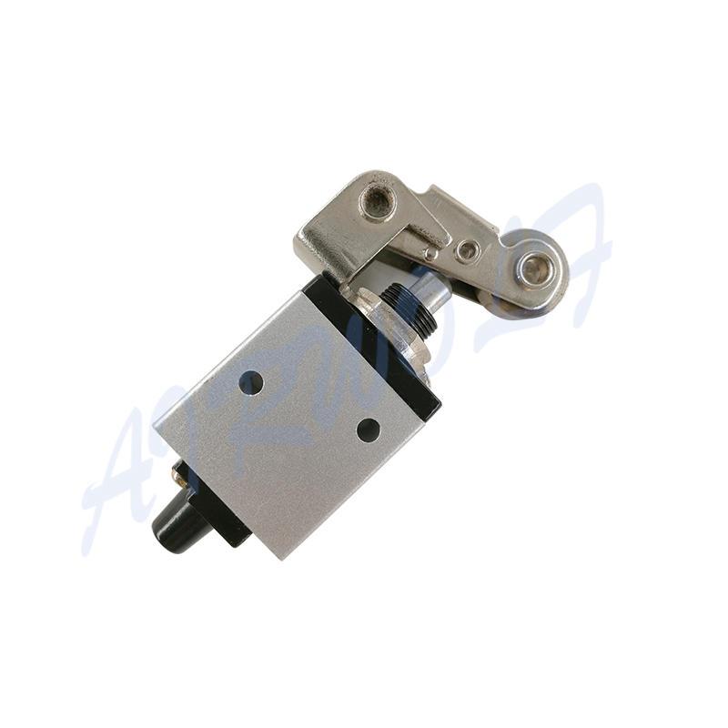 AIRWOLF black pneumatic push button valve silver bulk production-2
