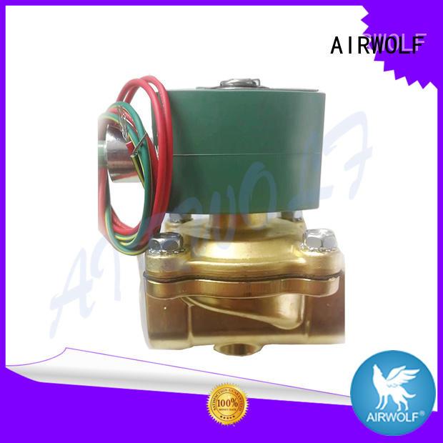 AIRWOLF OEM single solenoid valve for gas pipelines