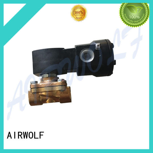 hot-sale solenoid valves for gas pipelines AIRWOLF