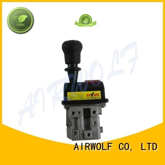 AIRWOLF excellent quality hydraulic dump valve single water meter