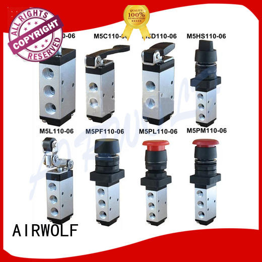 AIRWOLF cheapest price push button pneumatic air valve stroke bulk production