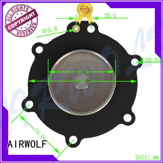 AIRWOLF green diaphragm valve repair kit pneumatic textile industry