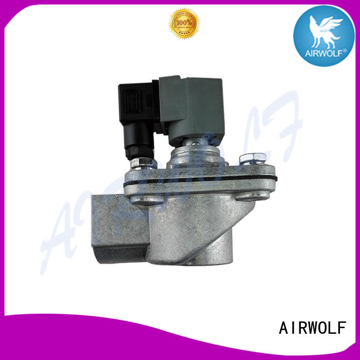 OEM pulse jet valve design aluminum alloy custom dust blowout
