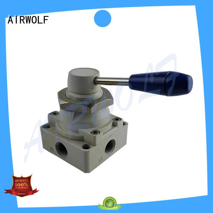 green pneumatic push button valve cheapest price foot bulk production