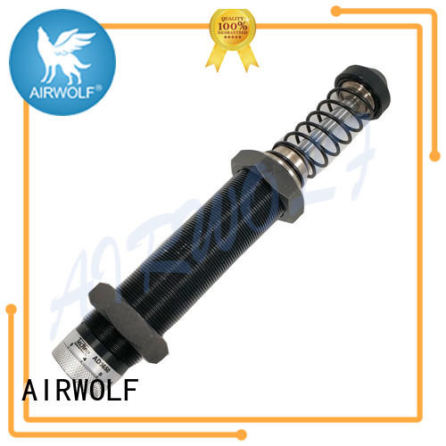 AIRWOLF coupled pneumatic cylinder damper energy compressed
