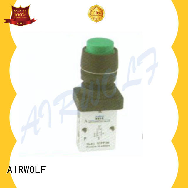 AIRWOLF cheapest price pneumatic manual valves acting wholesale