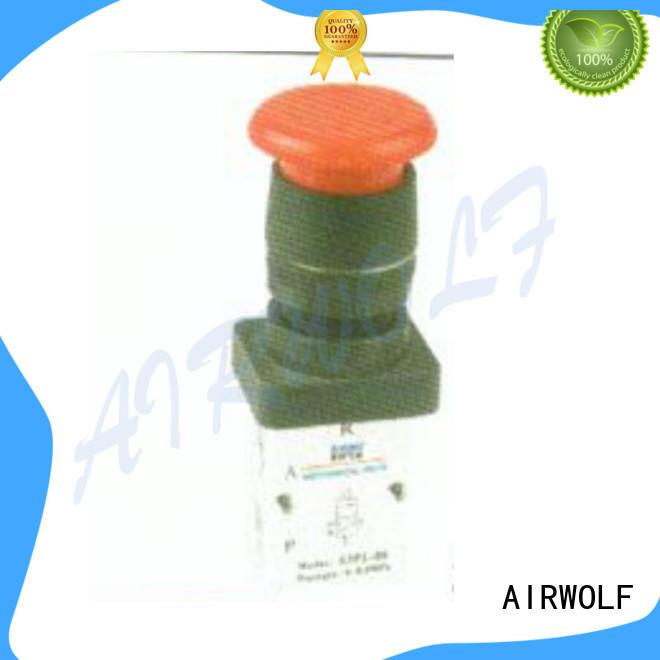 AIRWOLF convenient pneumatic push pull valve high quality bulk production
