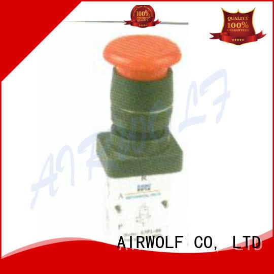 AIRWOLF green pneumatic push pull valve cheapest price bulk production
