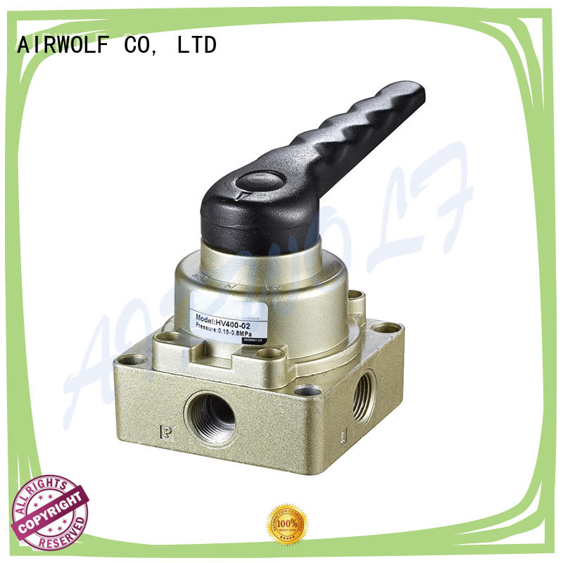 high quality pneumatic push pull valve cheapest price bulk production AIRWOLF