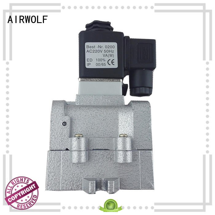 AIRWOLF ODM single solenoid valve operated direction system