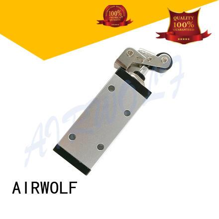 AIRWOLF black pneumatic manual valves outlet bulk production
