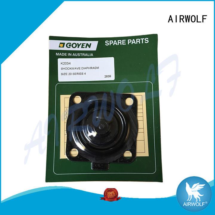 AIRWOLF high quality NBR Diaphragm repair kit spring metallurgy industry