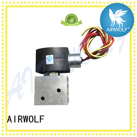 AIRWOLF high-quality pneumatic solenoid valve single pilot liquid pipe