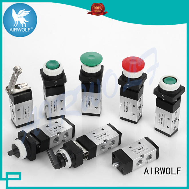 AIRWOLF manual pneumatic manual valves custom bulk production