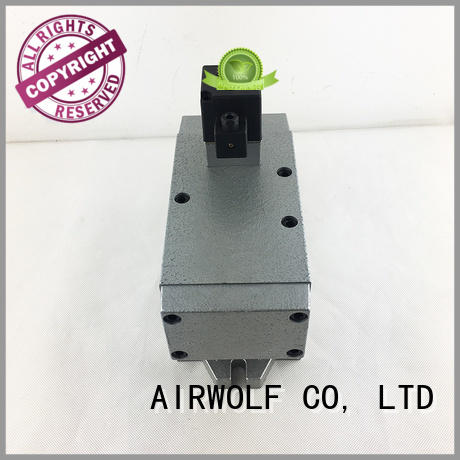 AIRWOLF pneumatic solenoid valve operated for gas pipelines