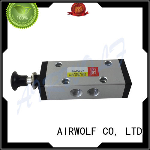 AIRWOLF mechanical pneumatic manual valves stroke bulk production