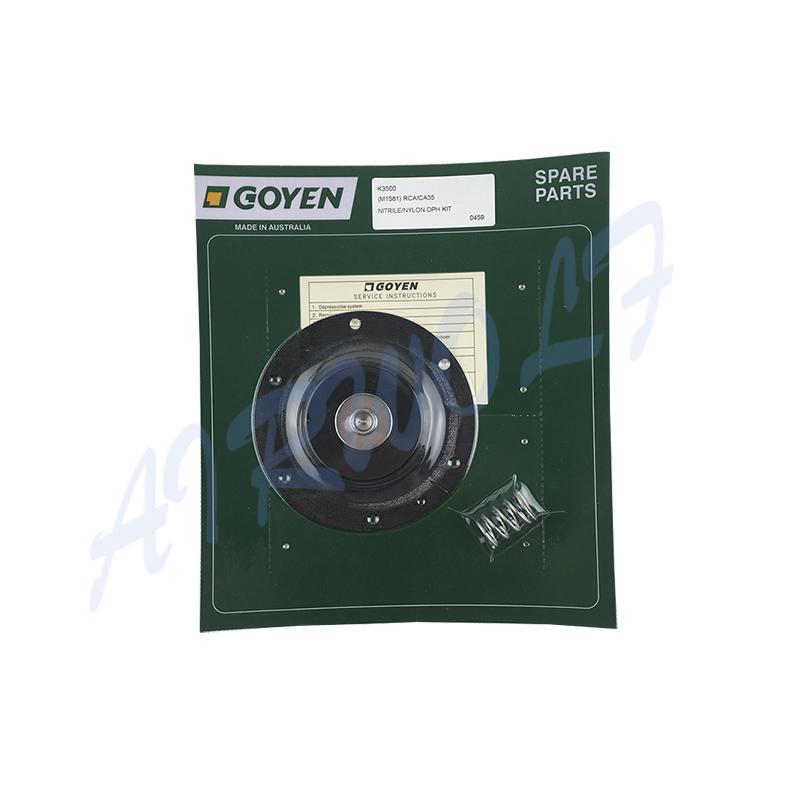 AIRWOLF yellow diaphragm valve repair kit viton water industry-2