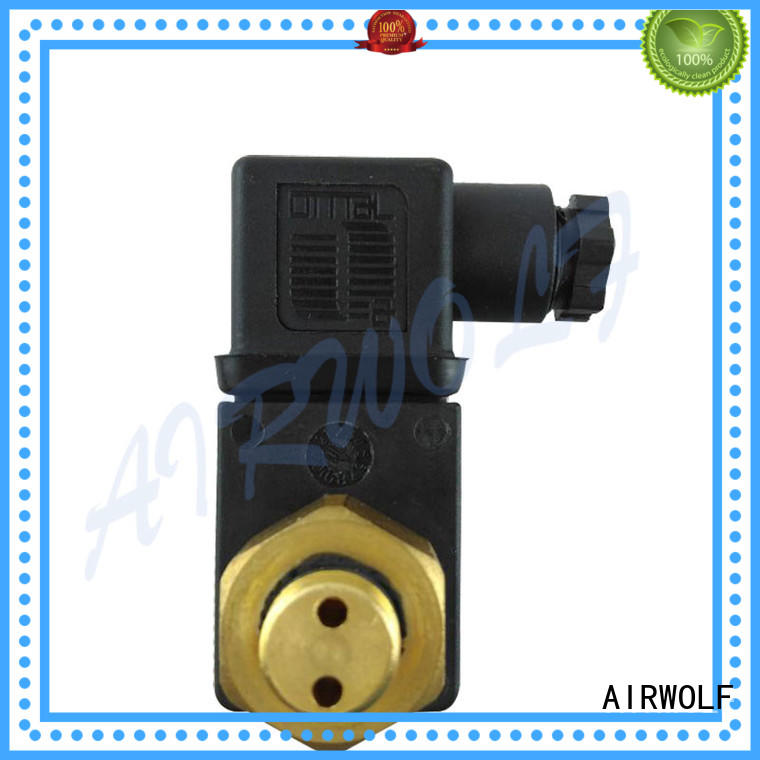 AIRWOLF yellow diaphragm valve repair kit solenoid paper industry